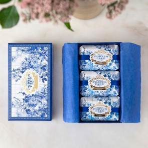 מארז סבונים Portus-Cale Gold&Blue