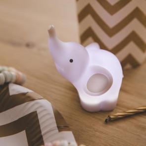 מנורת מיני פיל אפור LED