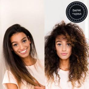 מברשת שיער חשמלית, דפני  מחליק שיער  Dafni-נבחר להמצאת השנה!