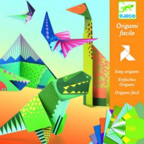 יצירה אומנות הקיפול - אוריגמי דינוזאור DJECO