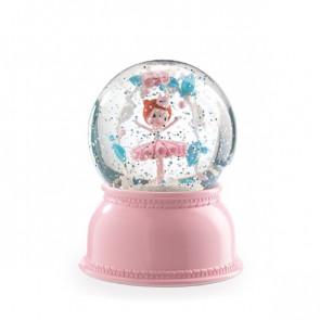 מנורת לילה כדור בדולח - רקדנית