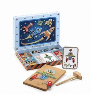 משחק הרכבה - חלל DJECO