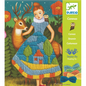 יצירה - רקמת שמלה DJECO