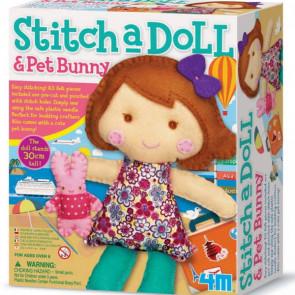 ערכה ליצירת בובה עם ארנב