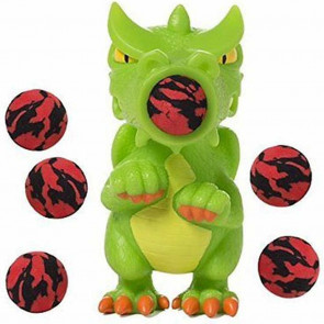 Squeeze Popper בובה מטורפת יורה כדורים - דרקון