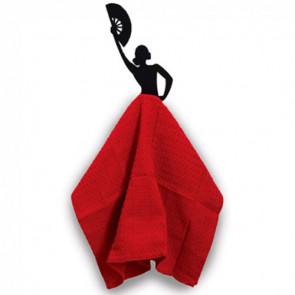 מתלה למגבת - רקדנית פלמנקו