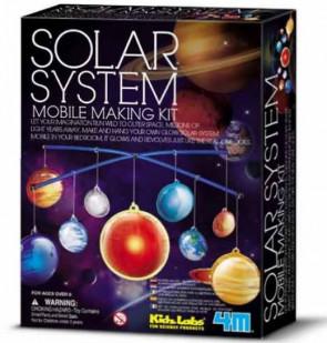 מעבדת הילדים - מובייל מערכת השמש
