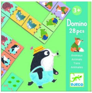 משחק דומינו - חיות חמודות DJECO