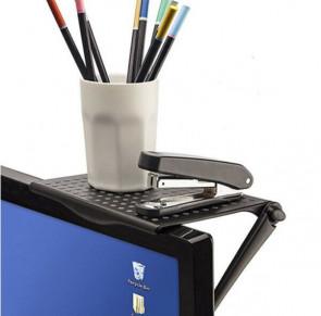 מדף אחסון למסך מחשב - Screen shelf