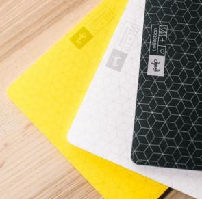 פד לעכבר - 60 דפים צבעוניים מודפסים בגריד ייחודי