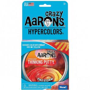 פוטי Hypercolors - Fire Storm Thinking Putty