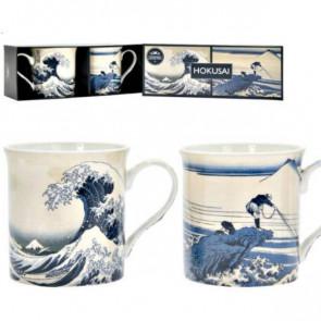 זוג ספלי הוקוסאי Hokusai