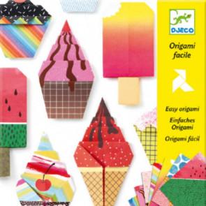 יצירה אומנות הקיפול - אוריגמי גלידה DJECO