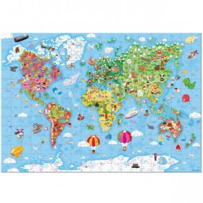 פאזל 300 חלקים – כדור הארץ ענקי