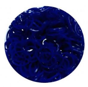 מארז 600 גומיות+24 סוגרים לריינבו לום - Rainbow Loom -   כחול ים ככה ג'לי