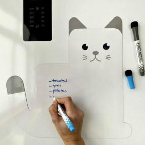 Meow - לוח מחיק מגנטי חתול
