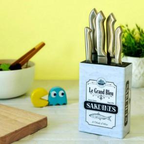 מעמד לסכיני מטבח  Sardines