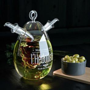 בקבוק שמן וחומץ - זית וגפן