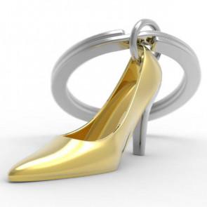 מחזיק מפתחות Unique Golden Shoe