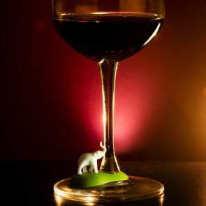 סמני כוסות יין חיות ספארי - QUALY