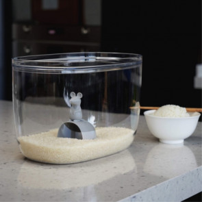 QUALY - קופסת אחסון עם כף עכבר