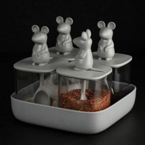 QUALY - סט אחסון  - עכברים