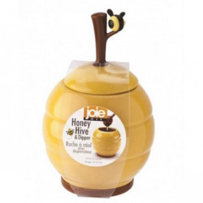 צנצנת לדבש בצורת כוורת