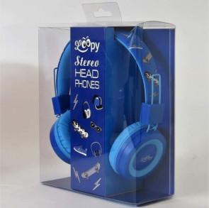 אוזניות שמע כחולות סקייטבורד