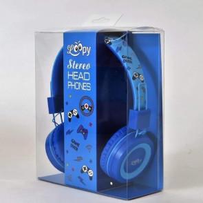 אוזניות שמע כחולות Game Over