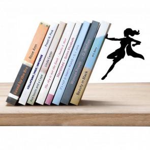 Supergal bookend תומך ספרים גיבורת על