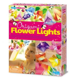 גרלנדת פרחים אוריגמי