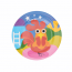 צלחת ילדים תרנגול